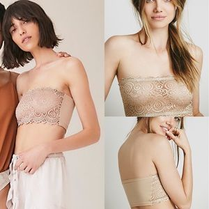 Free People Seamless Lace Reversible Bandeau